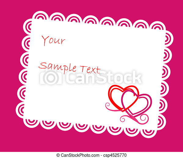 Carta de felicitación - csp4525770