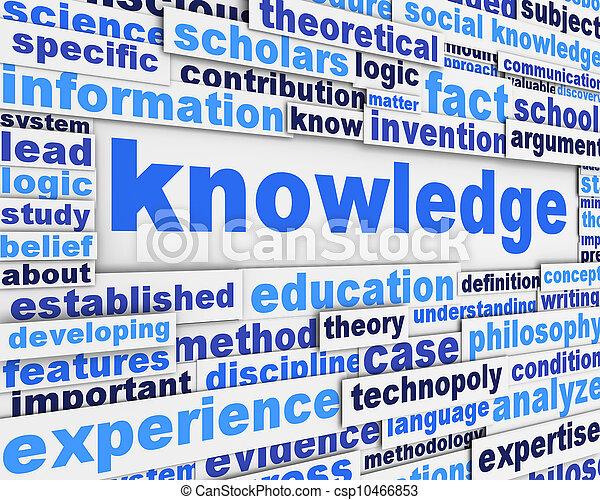 Diseño de carteles de conocimiento - csp10466853
