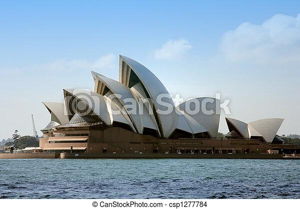 La ópera de Sydney - csp1277784