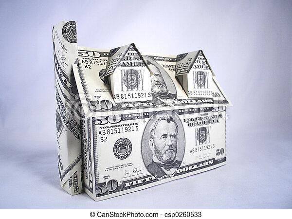 Casa de dinero - csp0260533