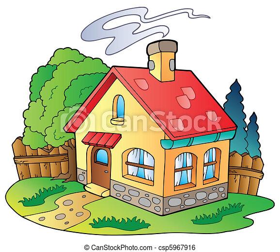Una casa familiar - csp5967916