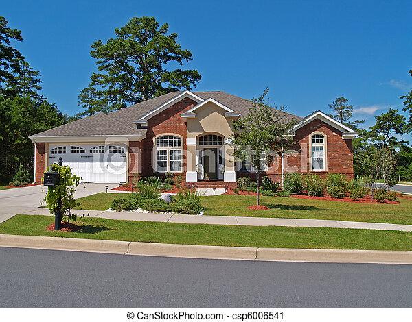 Casa residencial de ladrillos - csp6006541