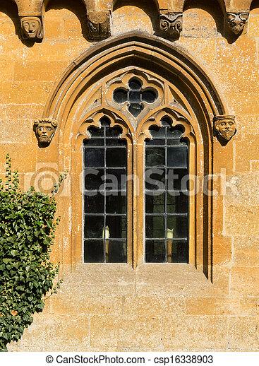 Casas viejas en el distrito de Inglaterra - csp16338903