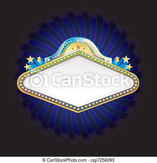 El estandarte del casino - csp7256093