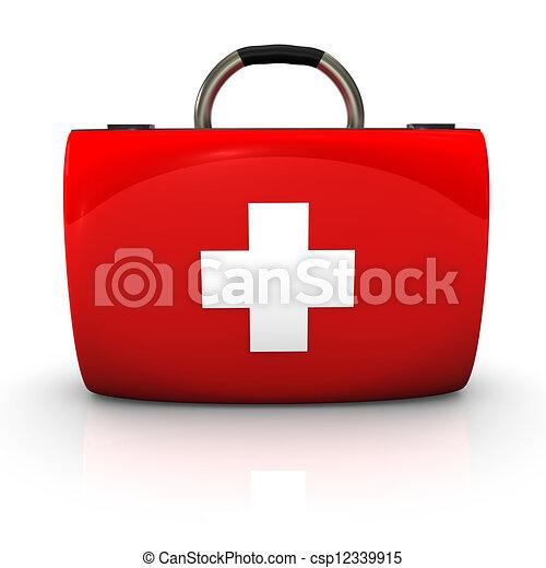 Un caso de emergencia - csp12339915