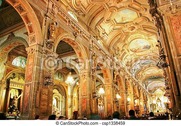 Catedral de Santiago, Chile - csp1338459