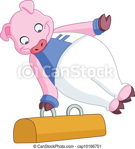 Cerdo machista - csp10166751