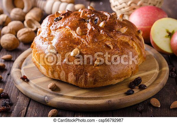 Celebración de Navidad de pastel checo - csp56792987