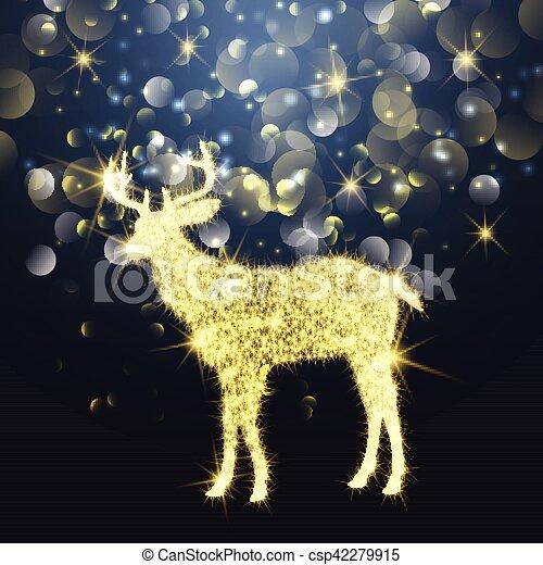 Chispas de Navidad 1310 - csp42279915