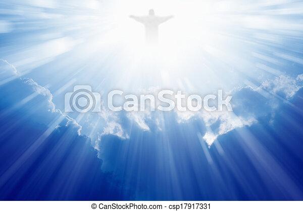 Jesucristo en el cielo - csp17917331