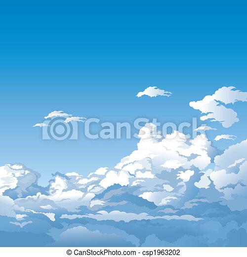 Cielo con nubes - csp1963202