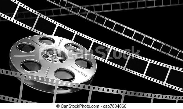 Cine de fondo - csp7804060