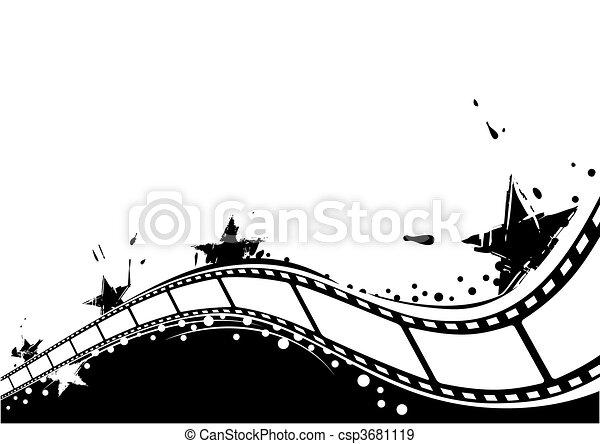 Cine de fondo - csp3681119