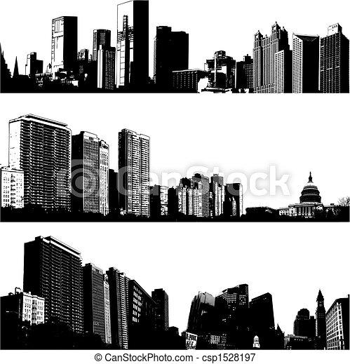 3 vectores de la ciudad - csp1528197