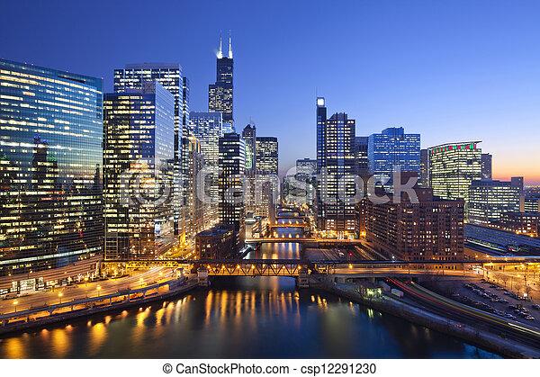 Ciudad de Chicago - csp12291230