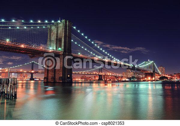 Ciudad de Nueva York Manhattan - csp8021353
