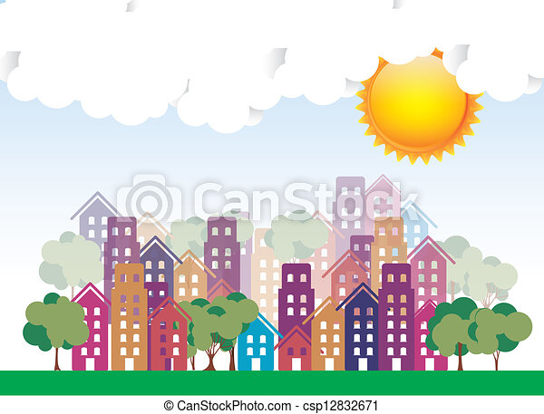 Sunny City - csp12832671