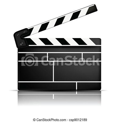 Claqueta de cine - csp9012189