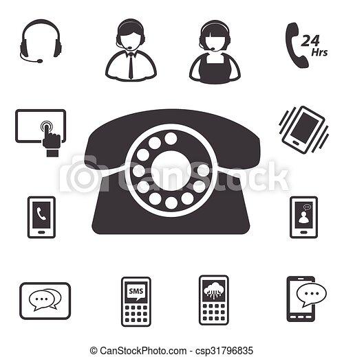 Llama al centro de atención al cliente - csp31796835