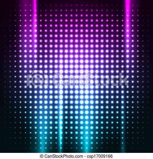 Abstrae el colorido fondo del club disco - csp17009166