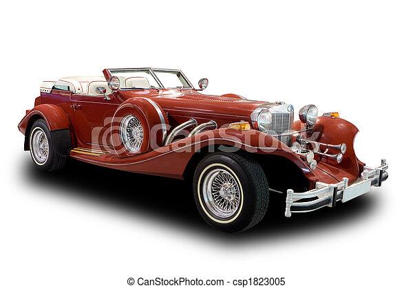 Auto antiguo - csp1823005