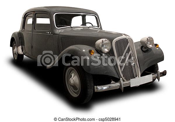 Auto anticuario - csp5028941