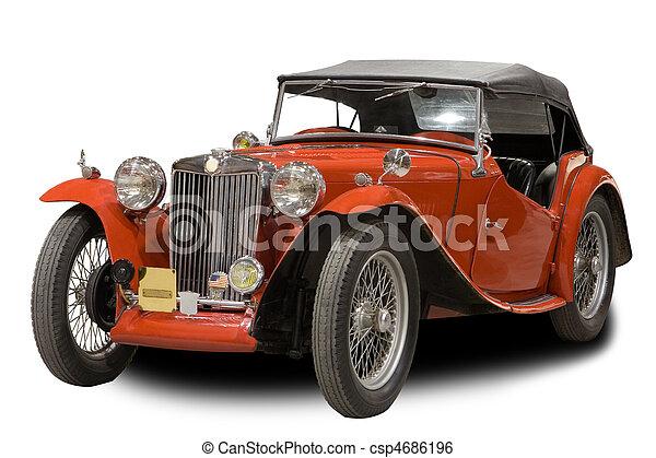 Un auto clásico - csp4686196