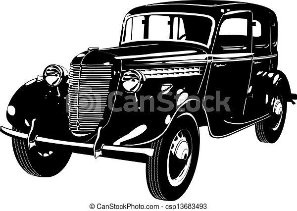 Un auto de repuesto - csp13683493
