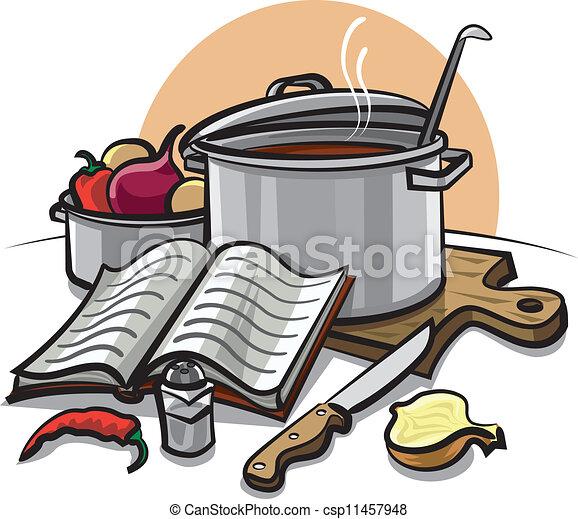 Cocinar - csp11457948