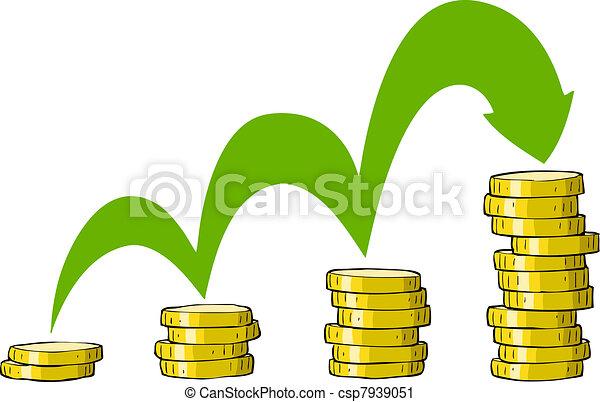 Unas monedas - csp7939051