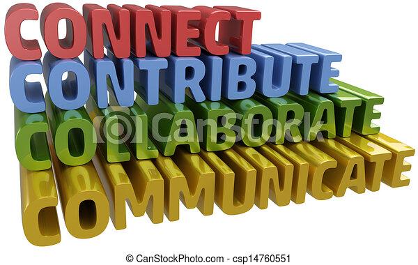 Conecta contribución de comunicación colaborativa - csp14760551