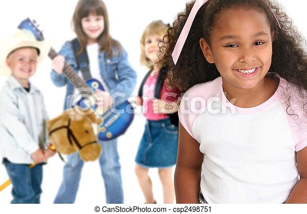 Niños de escuela - csp2498751