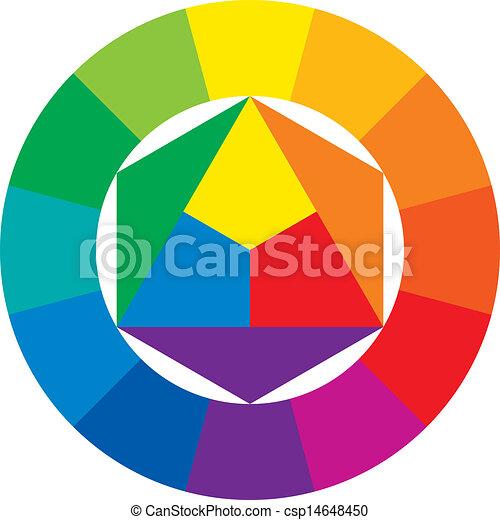 Rueda de color - csp14648450