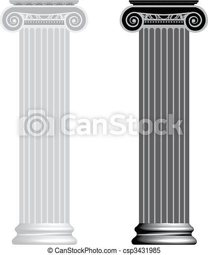 Columna iónica - csp3431985