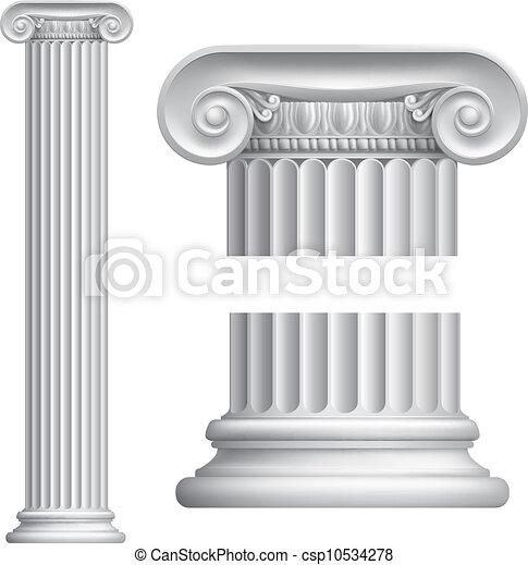 Columna iónica - csp10534278