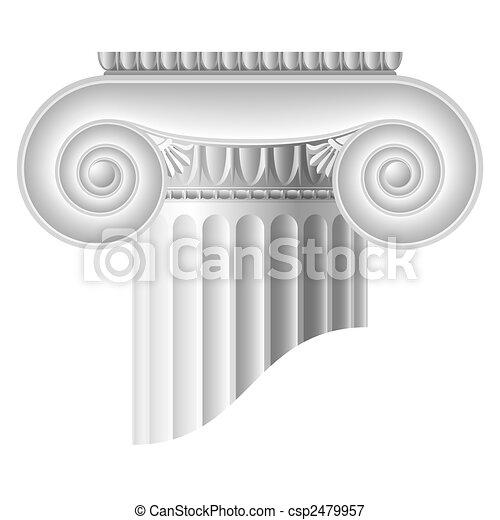 Columna iónica - csp2479957