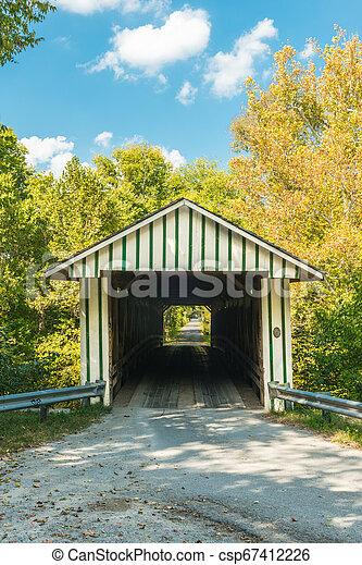 Colville cubrió el puente 2 - csp67412226