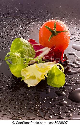 Comida natural, verduras - csp5928897