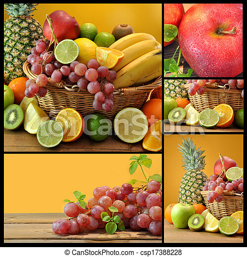 Composición de frutas - csp17388228
