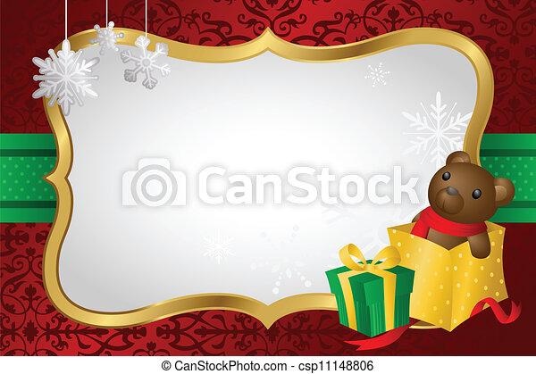 De compras navideñas - csp11148806