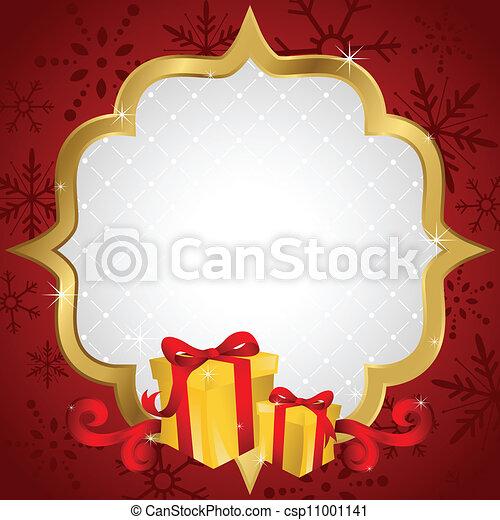 De compras navideñas - csp11001141