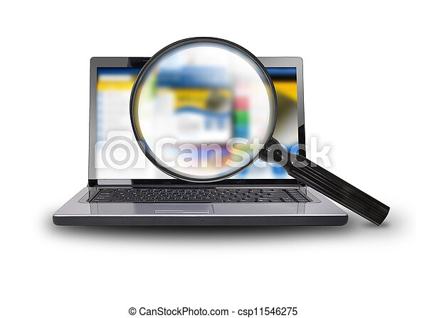 Buscando internet en computación portátil - csp11546275