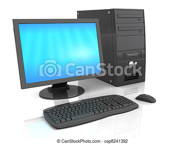 Computadora de Desktop - csp8241392