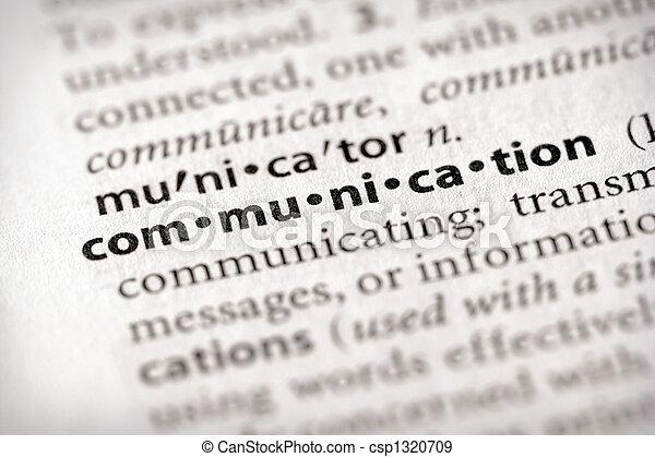 Comunicación - csp1320709
