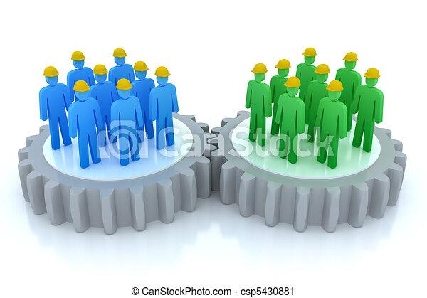 Equipos de trabajo de comunicaciones - csp5430881