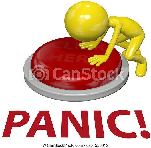 Concepto de problemas de pánico - csp4555012