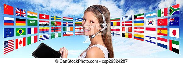 Llama al Centro de Operaciones de Comunicaciones Internacionales - csp29324287