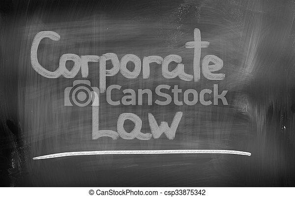 El concepto de derecho corporativo - csp33875342