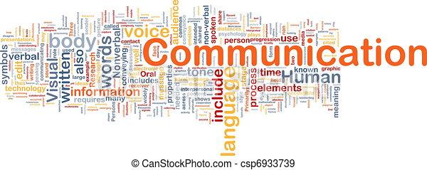 Concepto de comunicación - csp6933739