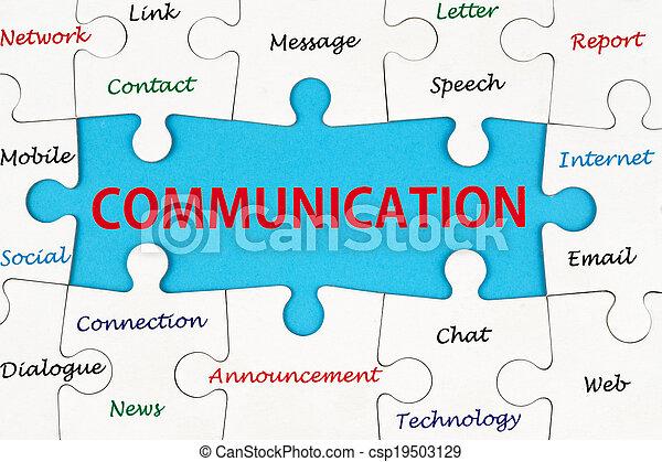 Concepto de comunicación - csp19503129